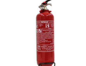 "Прахов пожарогасител 1кг. BC / ABC – "" ТОРНАДО """