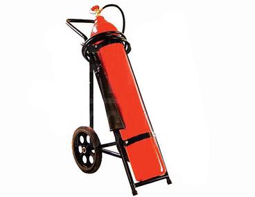 """Пожарогасител СО2 – 30 кг. (на количка) – """" ТОРНАДО """""""
