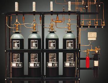 Пожарогасителни инсталации с CO2