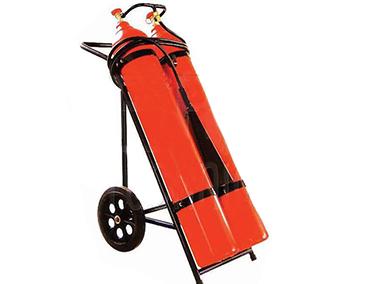"""Пожарогасител СО2 – 50 кг. (на количка) – """" ТОРНАДО """""""